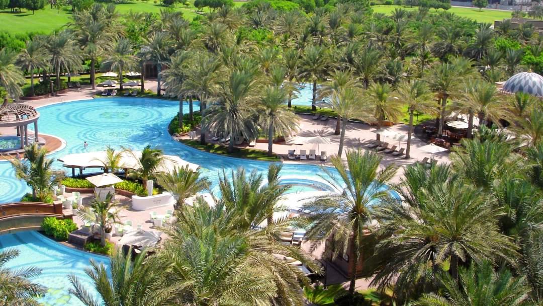 Swimming Pool at Emirates Palace Abu Dhabi