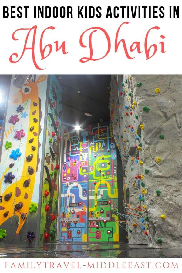 Things to do in indoor with kids in Abu Dhabi, UAE