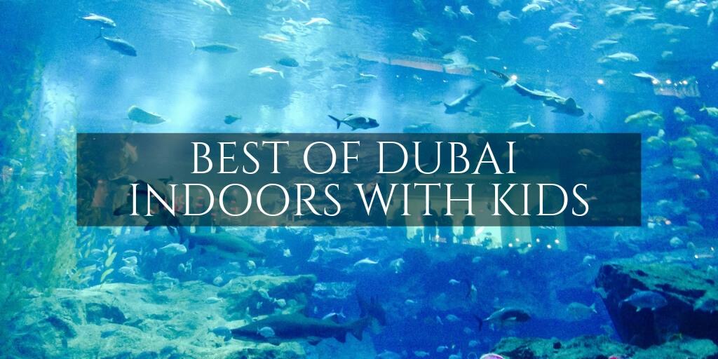 Dubai Aquarium - Indoor activites with kids in Dubai
