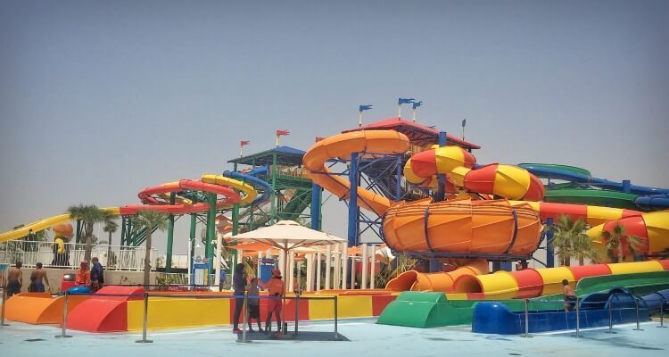 Dubai parks and Resorts Legoland Water park