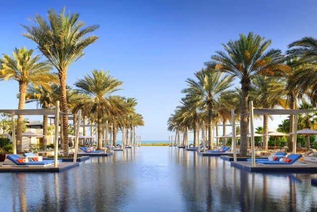 Park Hyatt Abu Dhabi Hotel and Villas swimming pool