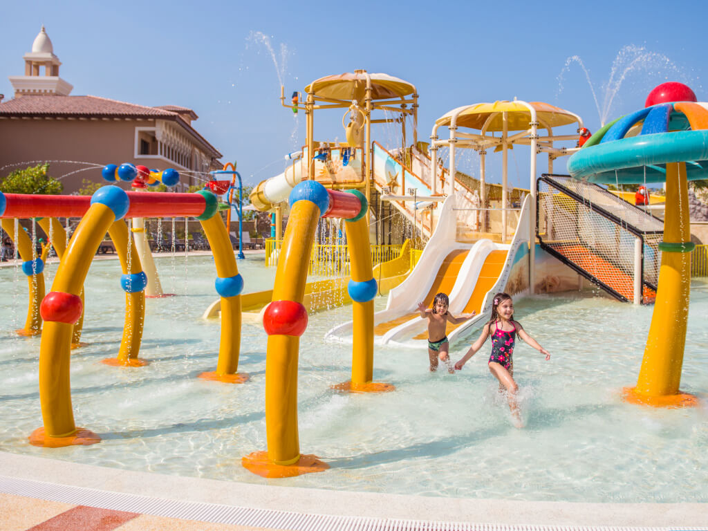Kids pool area at Rixos Saadiyat Island Abu Dhabi