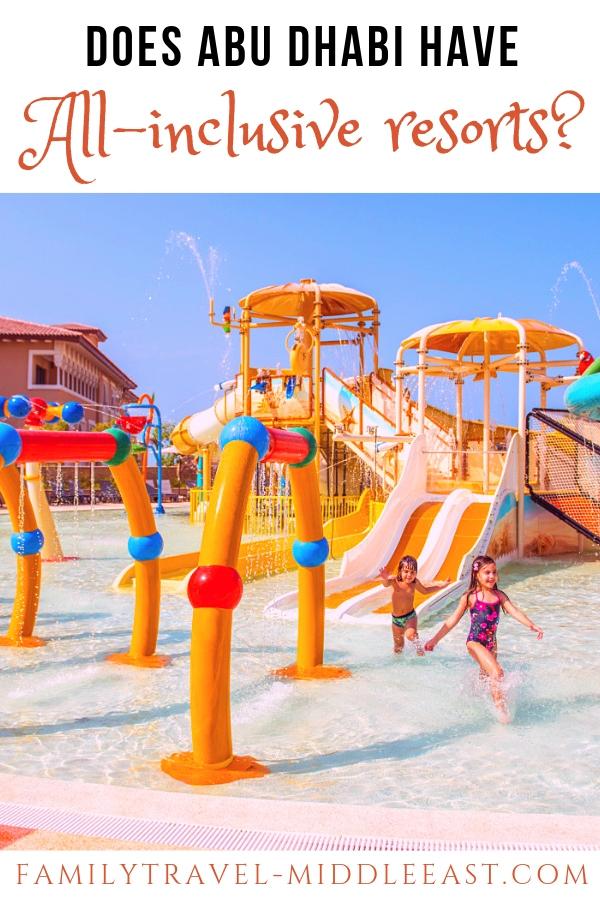 Rixos Saadiyat island water parks - Abu Dhabi All inclsuive resorts
