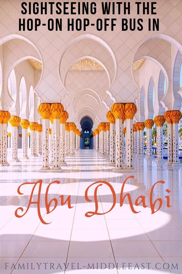 Abu Dhabi Hop On Hop Off Bus sightseeing