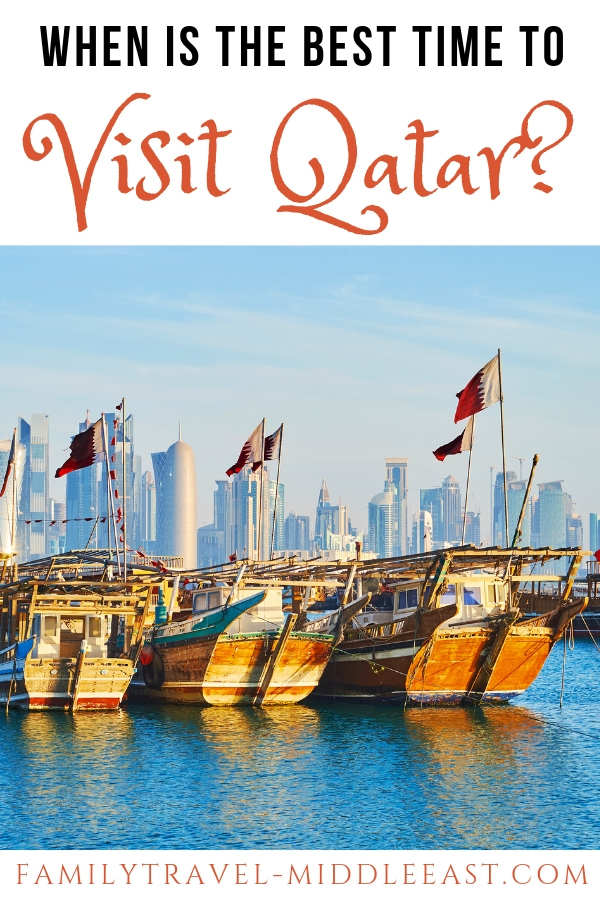 When is the best time to visit Qatar? A detailed guide to understanding the seasons, jsut how hot does it get in summer and when do the religious holidays fall.