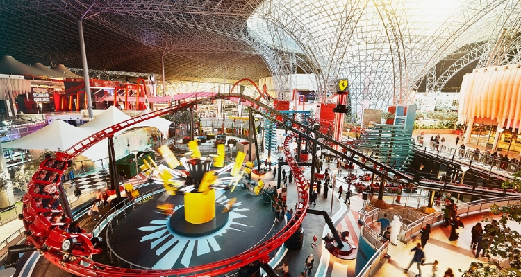 Ferrari World's new family Zone