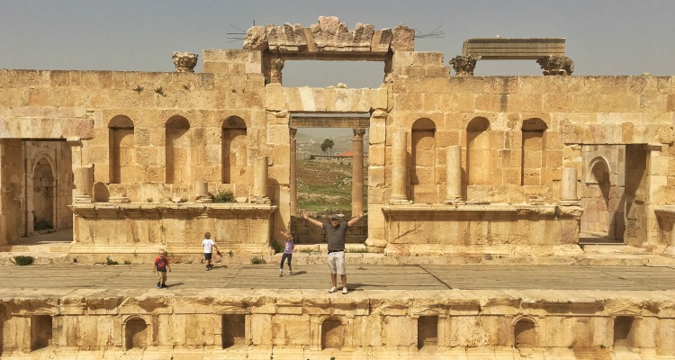 Jerash amphitheatre