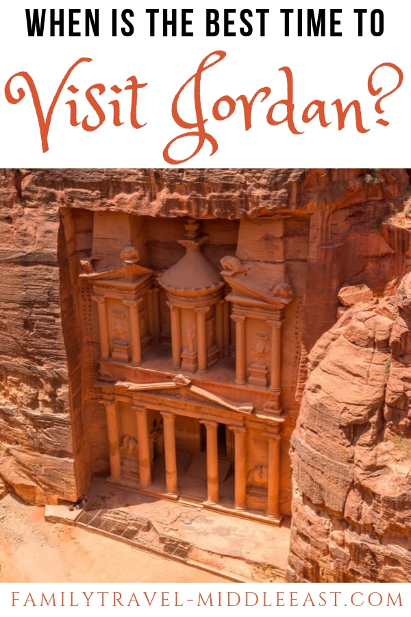 When is the Best time to Visit Jordan? With a hugely varied landscape from mountains to desrt plains and beach resorts, when can you get the most out of a trip to Jordan?
