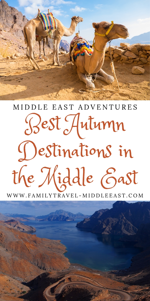 Autumn Destinations in the Middle East