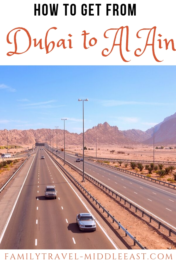 Dubai to Al Ain UAE