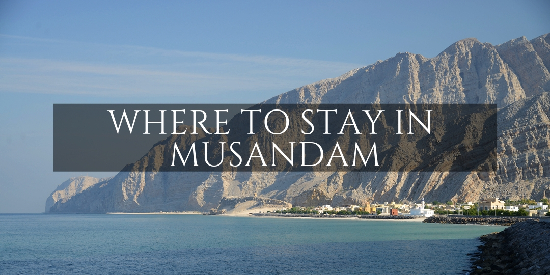 Where to stay in Musandam