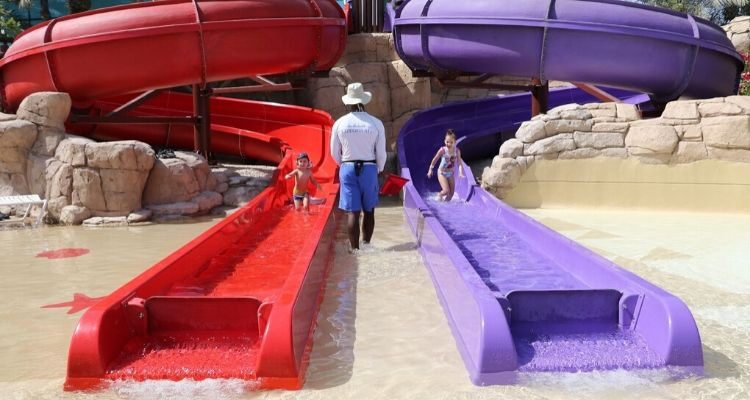 Splashers toddler area at Aquaventure