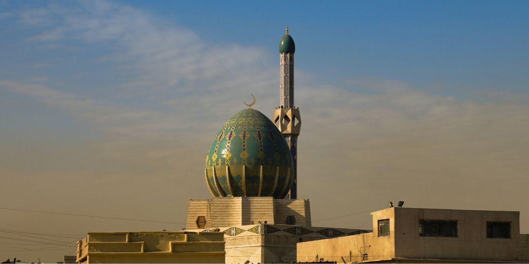 Iraq Baghdad Albunneya Mosque