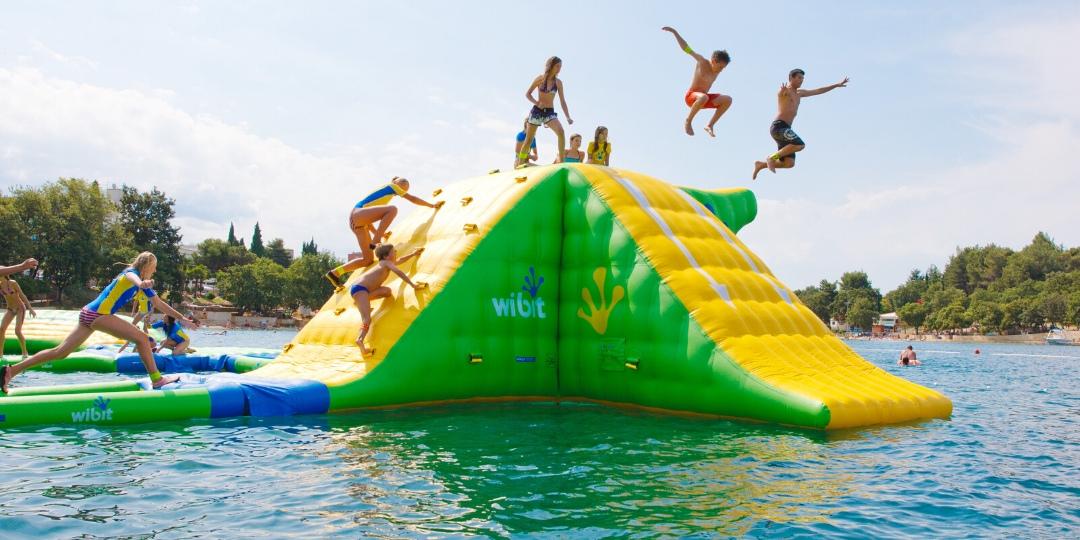 Aqua Bounce at Fairmont Fujairah