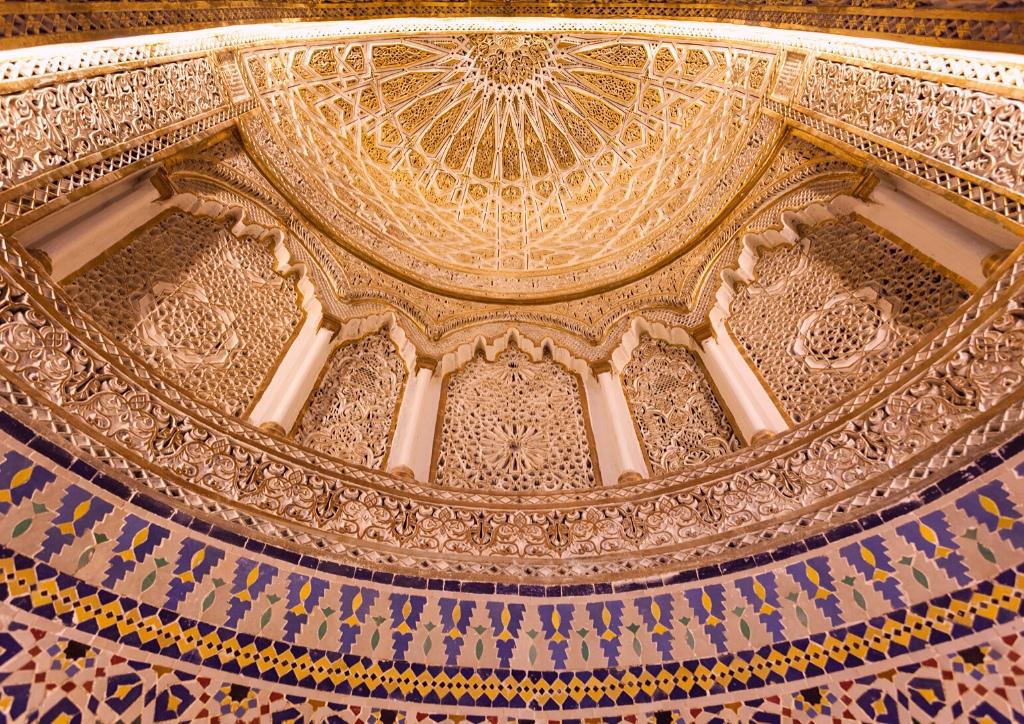Inside Kuwait Grand Mosque