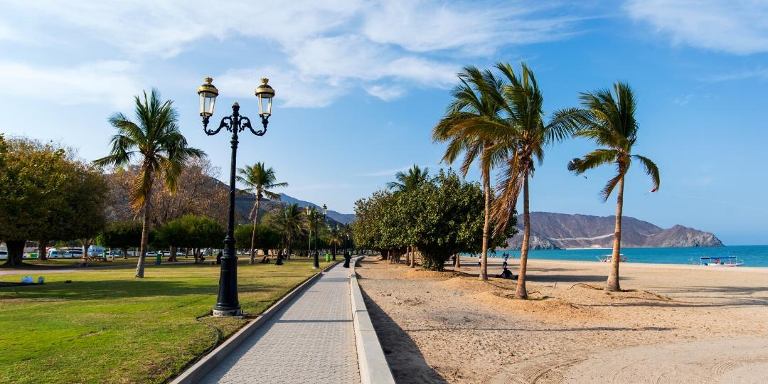 Khorfakkan Corniche Park