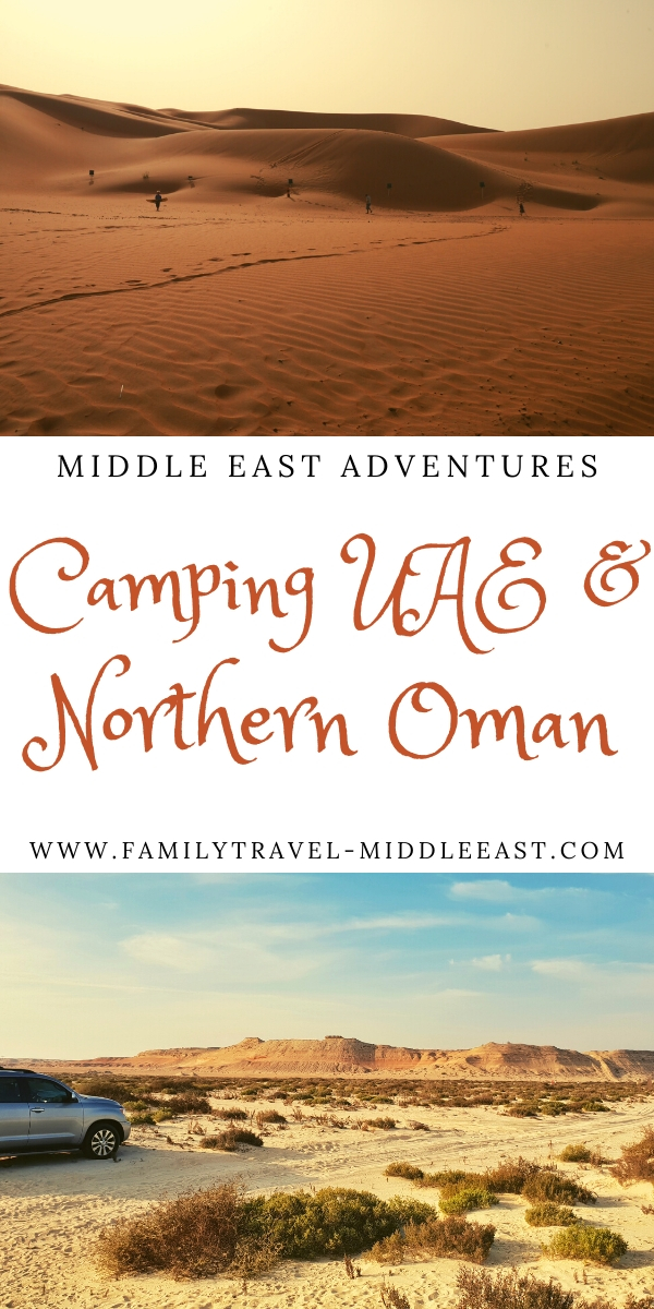 Camping in the UAE & Northern Oman