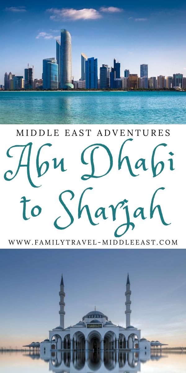 Abu Dhabi to Sharjah transport guide
