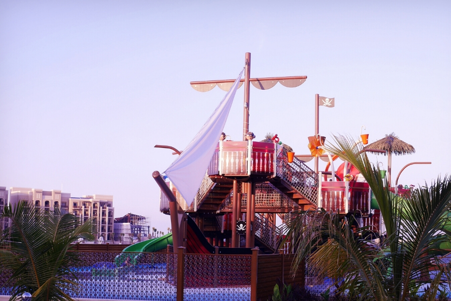 Doubletree Marjan Island Pirate Ship