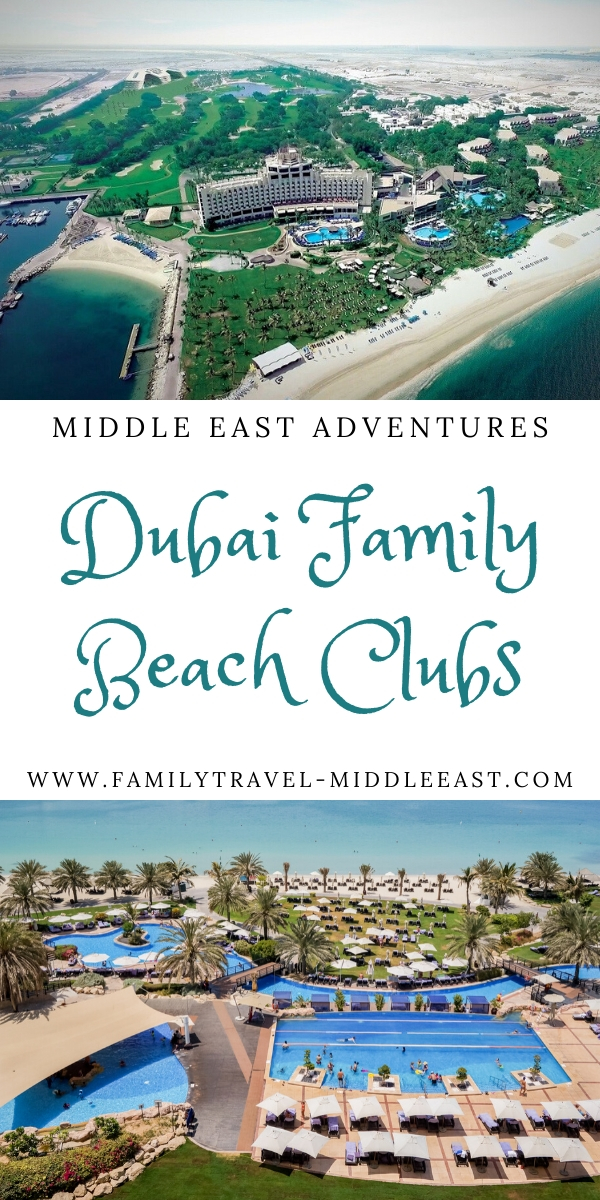 Dubai family beach clubs