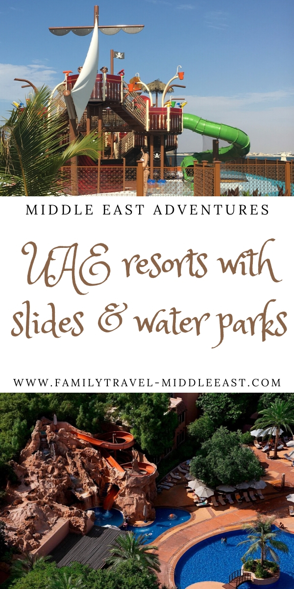 UAE resorts with slides and water parks for families