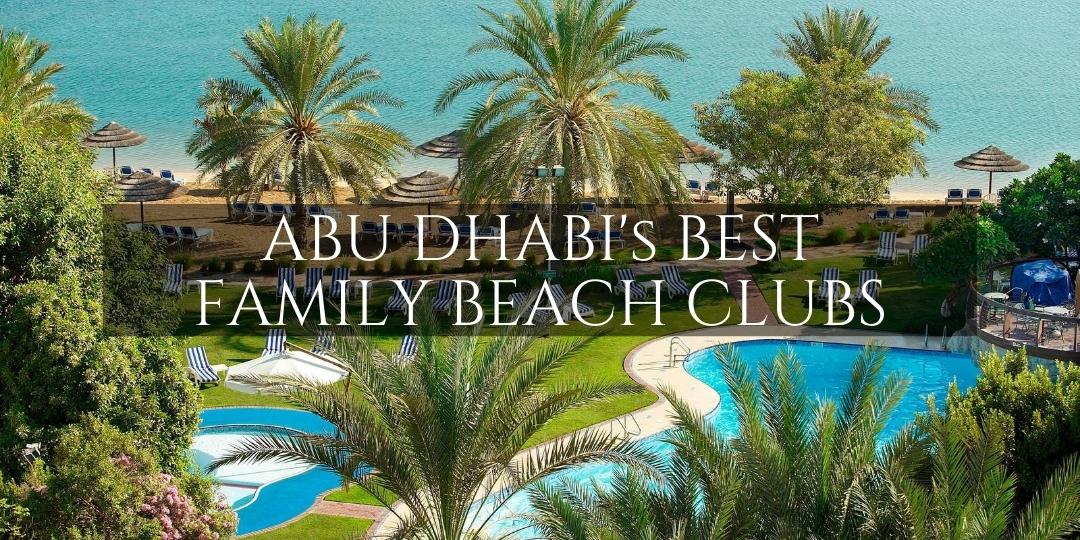 Best ABu Dhabi Family Beach Clubs - Le Meridien Abu Dhabi