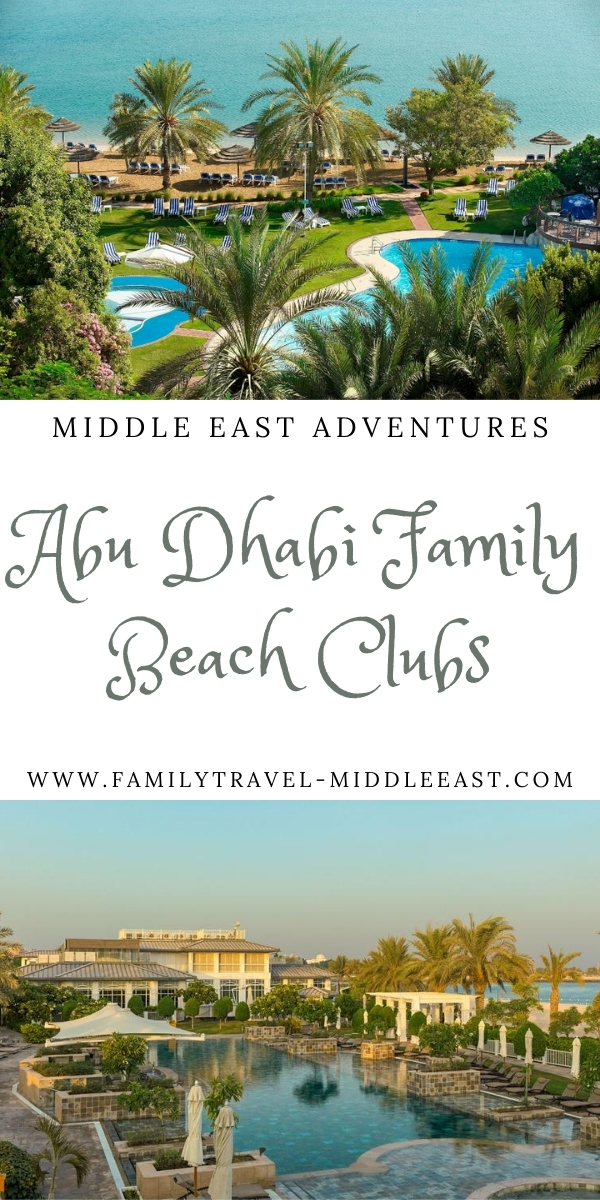 Abu Dhabi's Best Family Beach Clubs