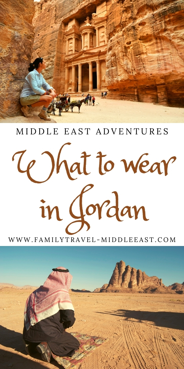 What to wear in Jordan example mens and womens clothing