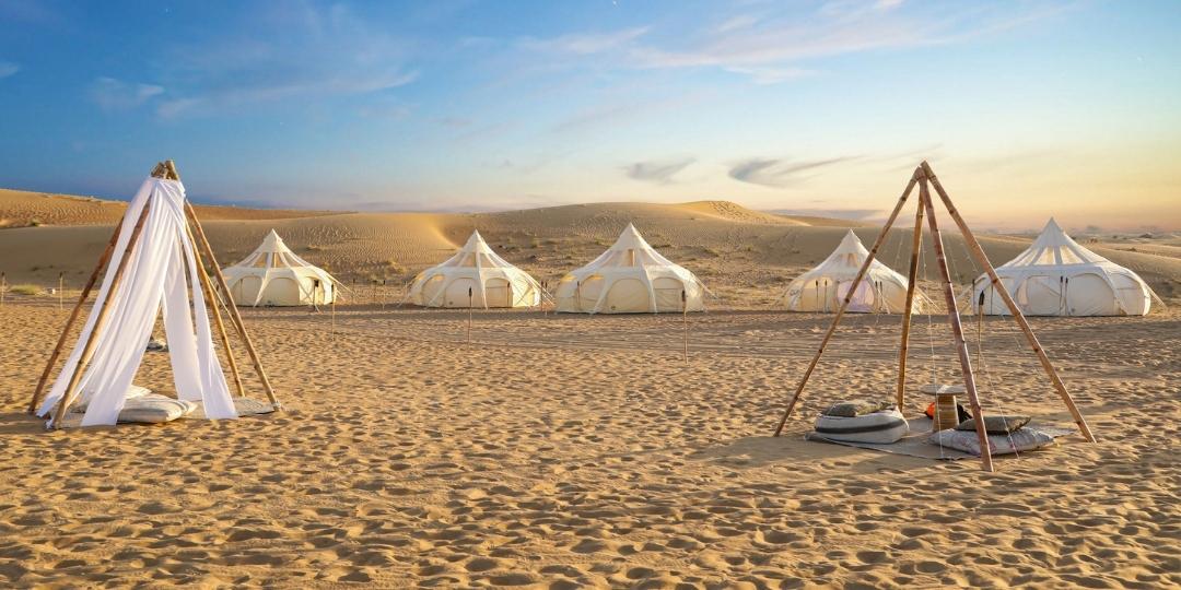 Sonara Desert Glamping Dubai Desert Conservation Reserve