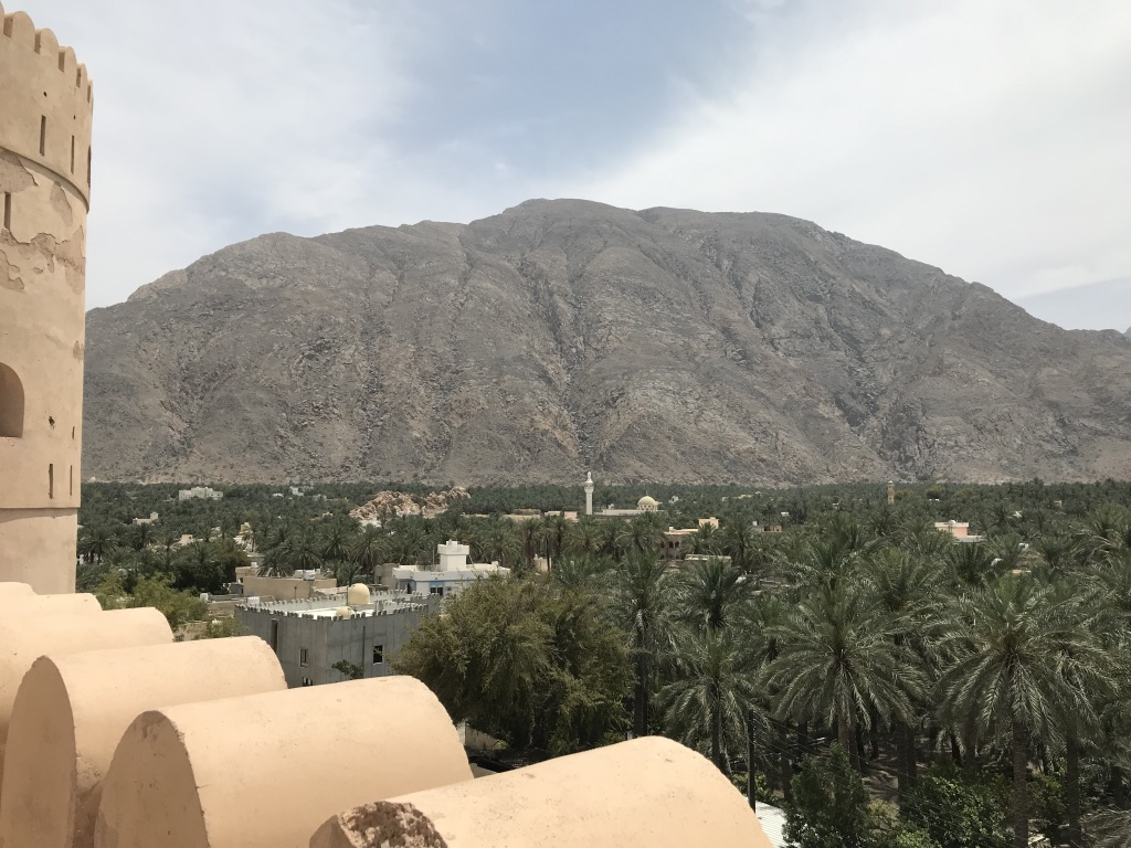 Nakhal Fort view Oman