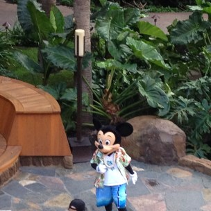 Mickey Mouse at Aulani