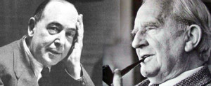 """J.R.R. Tolkien and C.S. Lewis"""