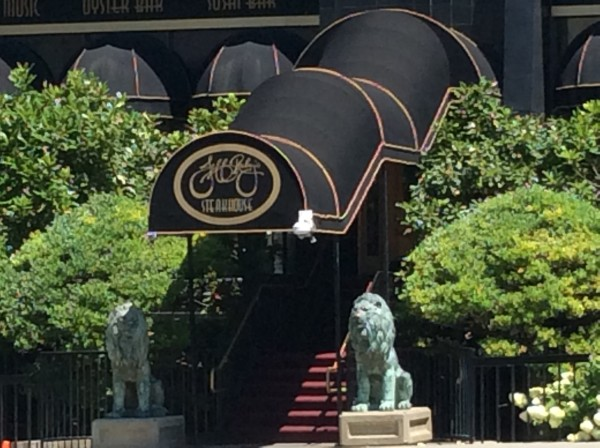 """Jeff Ruby's Steakhouse in downtown Louisville"""
