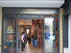 """The Harry Potter store"""