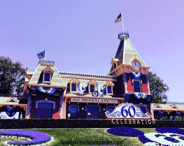 Disneyland 60th anniversary celebration