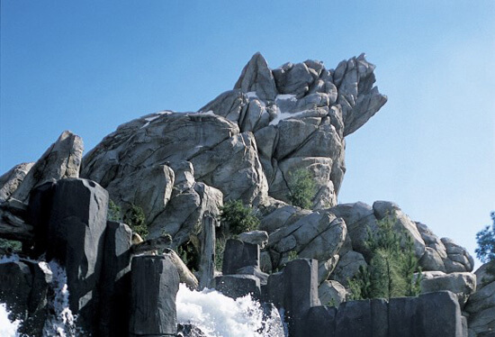 Grizzly peaks at Disney's California Adventure