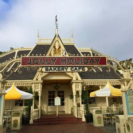 Jolly Holiday Cafe Disneyland