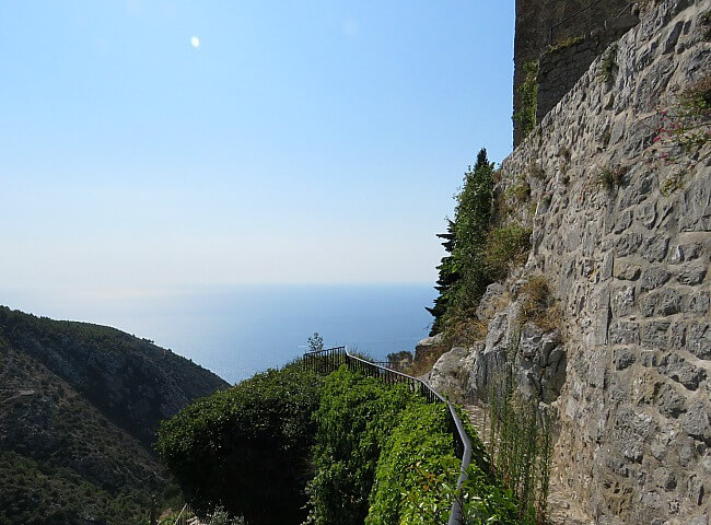 Eze Village Where the Alps Meet the Sea