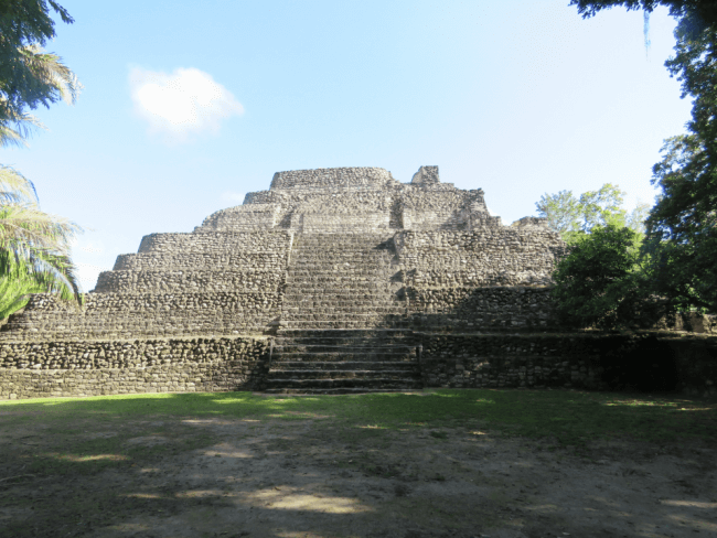 Chacchoben Ruins:  a Great Intro to Mayan History
