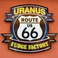 Uranus Missouri Route 66 Fudge Factory SIgn