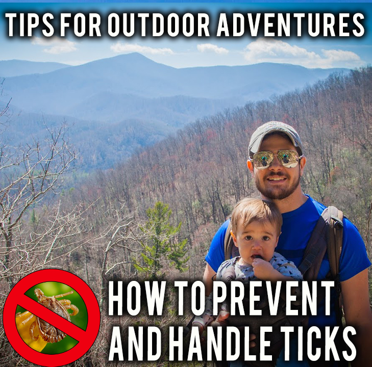 Tips to Prevent and Deal with Ticks on your next Hike