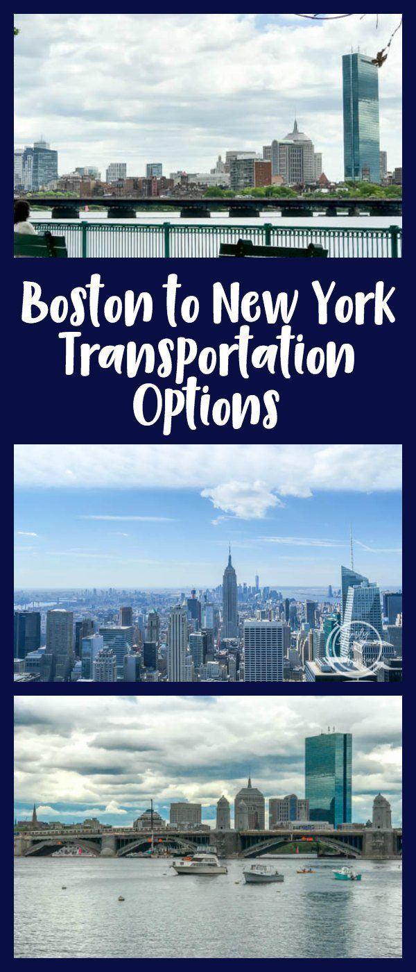 boston to new york