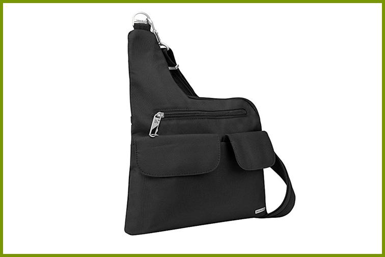 Travelon Anti-Theft Cross Body Bag in Black