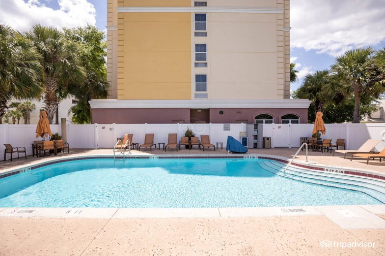 Pool at the Fairfield Inn and Suites Lake Buena Vista