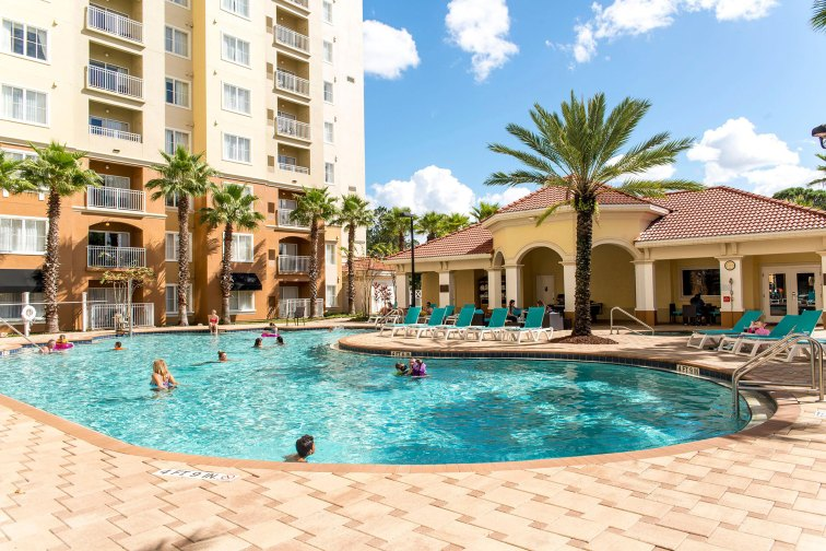 Pool at The Point Hotel & Suites in Orlando