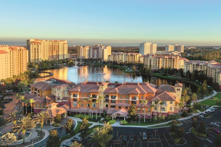 Aerial View of Wyndham Bonnet Creek Resort