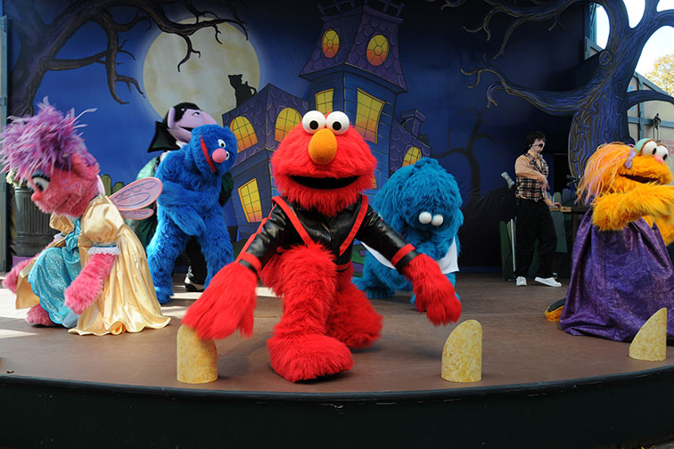 The Count's Halloween Spooktacular at Sesame Place in Langhorne, PA