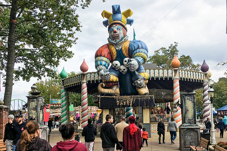 fright fest at six flags; Courtesy of Kathy Nolan/Shutterstock