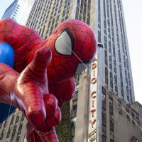 Spiderman at the Macy's Thanksgiving Day Parade; Courtesy of a katz/Shutterstock.com