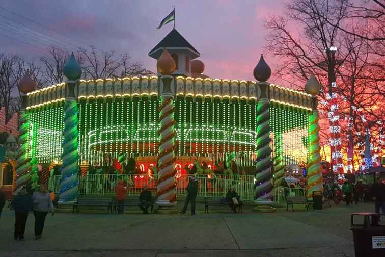 Holiday in the Park at Six Flags; Courtesy of Traci L. Suppa